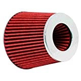 K&N Engineering RG-1001RD Multi 6' Od B X 5' H W/4', 3-1/2', 3' Dia FLG W/Inverted Top Universal Clamp-On Air Filter
