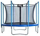 Upper Bounce 14 FT. Trampoline & Enclosure Set equipped with the New 'EASY ASSEMBLE FEATURE'