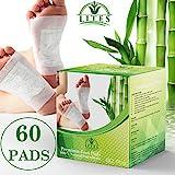 LITES Foot Pads - (60pcs) Premium Foot Patch, Relieve Stress | Organic & Natural Foot Pad | Sleep Better