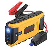 BASAF Car Jump Starter 1200A Peak for up to 8L Gas and 6L Diesel Engines, 12V Portable Battery Booster, Type-C in/out Port, USB Quick Charge 3.0