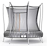 Vuly Thunder Trampoline with Leaf Springs Bounce, Extra-Tall Enclosure, and Self-Closing Door (Multiple Sizes Available)