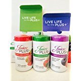 Juice Plus+ 4 Month Supply - Garden, Orchard and Vineyard Blend - 6 Bottles of 120 Capsules