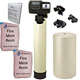 Iron Pro 2 Combination water softener iron filter Fleck 5600SXT digital metered valve 64,000 grain, 64k for whole house