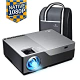 VANKYO Performance V600 Native 1080P LED Projector, 6000 Lux HDMI Projector with 300' Display Compatible with TV Stick, HDMI, VGA, USB, Laptop, iPhone Android for PowerPoint Presentation