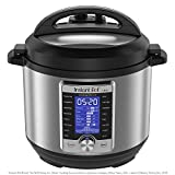 Instant Pot Ultra 10-in-1 Electric Pressure Cooker, Sterilizer, Slow Cooker, Rice Cooker, Steamer, Sauté, Yogurt Maker, Cake Maker, Egg Cooker, and Warmer, 8 Quart, 16 One-Touch Programs