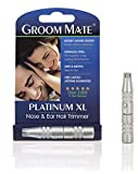 Groom Mate Platinum XL Nose & Ear Hair Trimmer