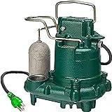 Zoeller M63 Premium Series 5 Year Warranty Mighty-Mate Submersible Sump Pump, 1/3 Hp
