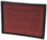 Spectre Engine Air Filter: High Performance, Premium, Washable, Replacement Filter: 1999-2020 CADILLAC/CHEVROLET/GMC (Escalade, Suburban, Tahoe, Silverado, Avalanche, Yukon, Sierra) SPE-HPR8755