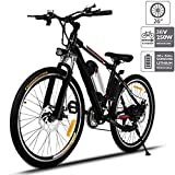 Aceshin 26'' Electric Bike, Electric Bicycle with 36V 8Ah Removable Large Capacity Lithium-Ion Battery, 250W Motor and Professional 21 Speed Gear
