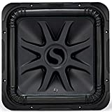 KICKER Solo-Baric L7S 2000W 15' 4 Ohm DVC Sealed or Ported Square Subwoofer