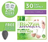 Detox Foot Pads (30 Day Supply)| Remove TOXINS | Sleep Better| Pain Relief | Relieve Stress | Healthy Living | Overall Well Being | FDA Certified | **Comes with Free EXFOLIATING KONJAC Sponge!!