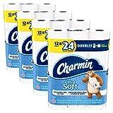 Charmin Ultra Soft Toilet Paper, 48 Double Rolls = 96 Regular Rolls