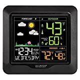 La Crosse Technology Wireless Atomic Digital Color Forecast Station with Alerts