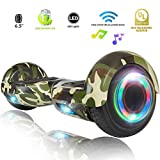XPRIT Hoverboard w/Bluetooth Speaker (Camouflage)
