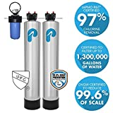 Whole House Water Filter & Water Softener (1-3 Bathrooms)