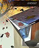 """LeafsOut 5"""" WIDE, DIY Micro Mesh Rain Gutter Guard System – 100' LONG, Stainless Steel"""
