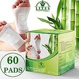 LITES Foot Pads - (60pcs) Premium Foot Pad, Relieve Stress | Organic & Natural Foot Pad | Sleep Better
