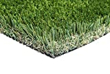 New 15' Foot Roll Artificial Grass Turf Synthetic Fescue Pet Sale! Many Sizes! (Premium 15' x 40' = 600 Sq Ft)