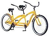Kulana Lua Single Speed Tandem Cruiser Bike, 26-Inch Wheels