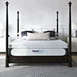Classic Brands Cool Gel Memory Foam 14-Inch Mattress with 2 BONUS Pillows/CertiPUR-US Certified/Bed-in-a-Box, King, White