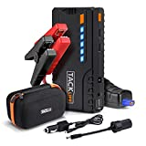 TACKLIFE T6 600A Peak 16500mAh SuperSafe Car Jump Starter (up to 7.0L Gas, 5.5L Diesel Engine) with Long Standby, Quick Charge, 12V Auto Battery Booster, Portable Power Pack for Cars, Trucks, SUV