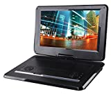 Sylvania 15.6-Inch Swivel Screen Portable DVD Player with USB & SD Card Slot & Rechargeable Battery